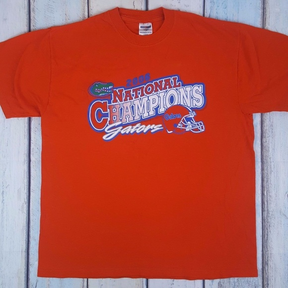 3b4d04dd Jerzees Shirts | University Of Florida Gators Orange Mens Tshirt L ...